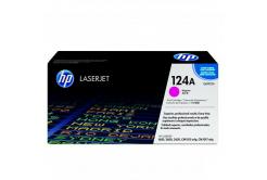 HP 124A Q6003A bíborvörös (magenta) eredeti toner