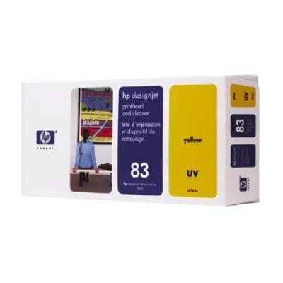 HP 83 C4963A sárga (yellow) eredeti nyomtató fej