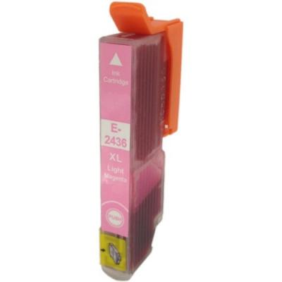Epson T2436 XL világos bíborvörös (light magenta) kompatibilis tintapatron