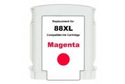 HP 88XL C9392A bíborvörös (magenta) kompatibilis tintapatron