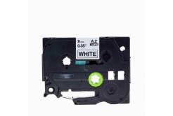 Brother TZe-V221, 9mm x 5,5m, fekete nyomtatás / fehér alapon, vinyl, kompatibilis szalag