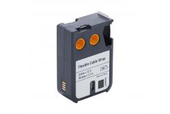 Dymo 1868807, 19mm x 5, 5m, fekete nyomtatás / fehér alapon, kompatibilis szalag
