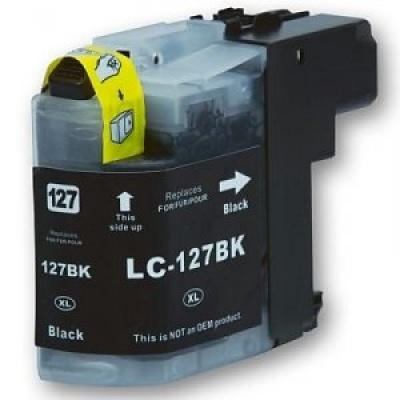 Brother LC-127XL fekete (black) kompatibilis tintapatron