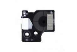 Dymo 40920, 9mm x 7m fehér nyomtatás / átlátszó alapon, kompatibilis szalag