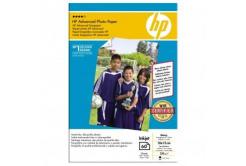 "HP Q8008A Advanced Glossy Photo Paper, fotópapírok, fényes, zdokonalený, fehér, 10x15cm, 4x6"", 250 g/m2, 60db"