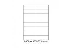 Öntapadós címkék 105 x 37 mm, 16 db / A4, 100 lap