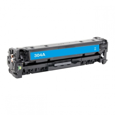 HP 304A CC531A cián (cyan) kompatibilis toner