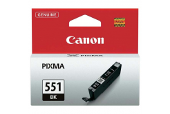 Canon CLI-551BK, 6508B001 fekete (black) eredeti tintapatron