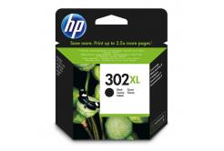 HP 302XL F6U68AE fekete (black) eredeti tintapatron