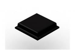 3M Bumpon SJ5007 fekete, plató = 54 db