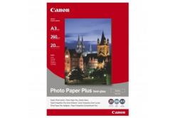 Canon SG-201 Photo Paper Plus Semi-Glossy, fotópapírok, félig fényes, szatén, fehér, A3, 260 g/m2, 20 db