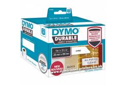 Dymo 1933081, 89mm x 25mm, fehér, polypropylen, eredeti szalag