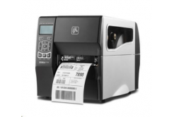 Zebra ZT230 ZT23043-D2E000FZ címkenyomtató, 12 dots/mm (300 dpi), cutter, display, ZPLII, USB, RS232