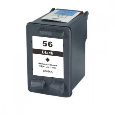 HP 56 C6656A fekete (black) kompatibilis tintapatron