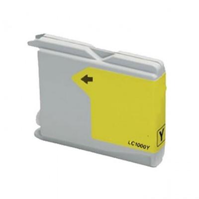 Brother LC-970 / LC-1000Y sárga (yellow) kompatibilis tintapatron