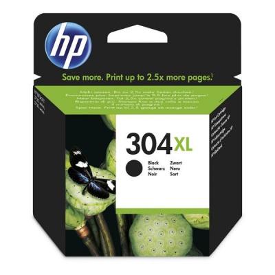 HP 304XL N9K08AE fekete (black) eredeti tintapatron