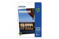 Epson S041332 Premium Semigloss Photo Paper, fotópapírok, félig fényes, fehér, A4, 251 g/m2, 20 db