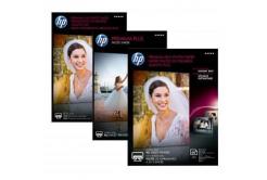"""HP CR676A Premium Plus Glossy Photo Paper, fotópapírok, fényes, fehér, 13x18cm, 5x7"""", 300 g/m2, 20 db"""