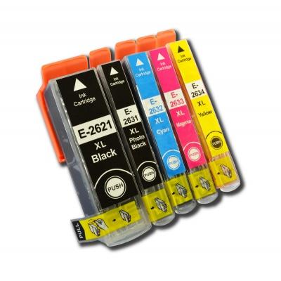 Epson T2636 multipack utángyártott tintapatron