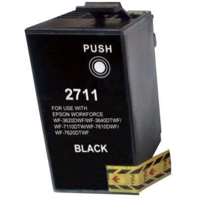 Epson T2711 fekete (black) kompatibilis tintapatron