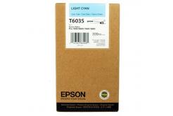 Epson C13T603500 világos cián (light cyan) eredeti tintapatron