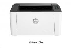 HP Laser 107W - (20str/min, A4, USB, Wi-Fi)