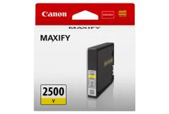 Canon eredeti tintapatron PGI-2500 Y, yellow, 9.6ml, 9303B001, Canon MAXIFY iB4050,iB4150,MB5050,MB5150,MB5350,MB5450