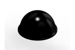 3M Bumpon SJ5027 fekete, plató= 40 db