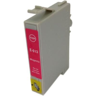 Epson T0613 bíborvörös (magenta) kompatibilis tintapatron