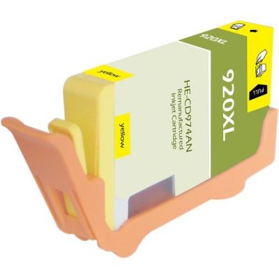 HP 920XL CD974A sárga (yellow) kompatibilis tintapatron