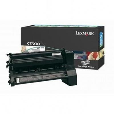Lexmark C7720KX fekete (black) eredeti toner