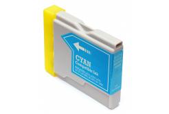 Brother LC-970 / LC-1000C cián (cyan) utángyártott tintapatron