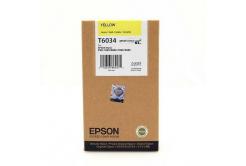 Epson C13T603400 sárga (yellow) eredeti tintapatron