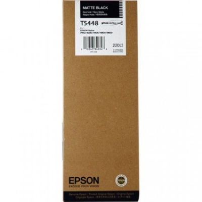 Epson T544800 matte fekete (matte black) eredeti tintapatron