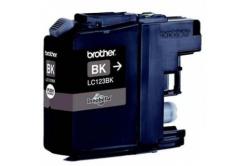 Brother LC-123BK dualpack fekete (black) eredeti tintapatron