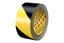 3M 766 PVC szalag sárga-fekete, 50 mm x 33 m