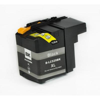 Brother LC-529XL fekete (black) kompatibilis tintapatron