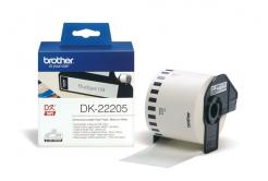 Brother DK-22205, 62mm x 30,48m, címketekercs