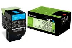 Lexmark 70C20C0 cián (cyan) eredeti toner