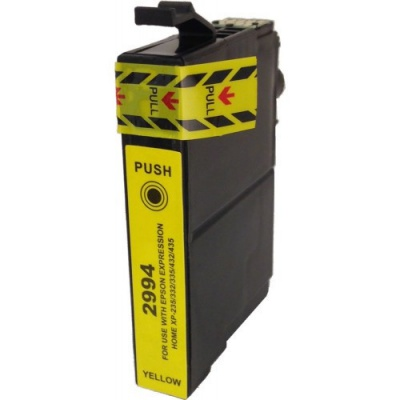 Epson T2994 sárga (yellow) kompatibilis tintapatron