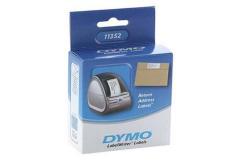 Dymo 11352, S0722520, 54mm x 25mm, fehér, eredeti címketekercs