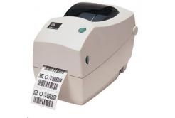 Zebra TLP2824 Plus 282P-101122-040 címkenyomtató, 8 dots/mm (203 dpi), cutter, RTC, EPL, ZPL, Dual-IF