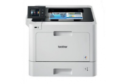 Brother HL-8360CDW szürke laser nyomtató - A4, 31ppm, 2400x600, 512MB, PCL6, USB 2.0, LAN, WiFi, DUPLEX