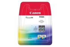 Canon CLI36, 1511B018 színes (color) dualpack eredeti tintapatron