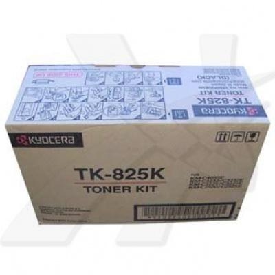 Kyocera Mita TK-825K fekete (black) eredeti toner