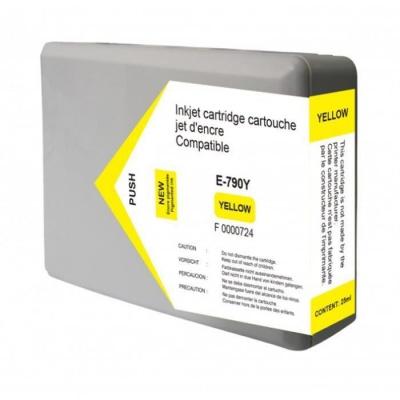 Epson T7904 sárga (yellow) kompatibilis tintapatron