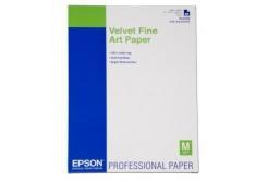 Epson S042096 Velvet Fine Art Paper, bársonyos, fehér, A2, 260 g/m2, 25 db