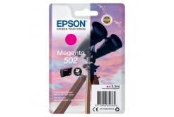 Epson 502 C13T02V34010 bíborvörös (magenta) eredeti tintapatron