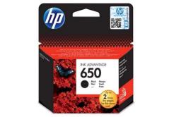 HP 650 CZ101AE fekete (black) eredeti tintapatron