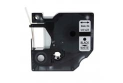 Dymo 43613, S0720780, 6mm x 7m fekete nyomtatás / fehér alapon, kompatibilis szalag